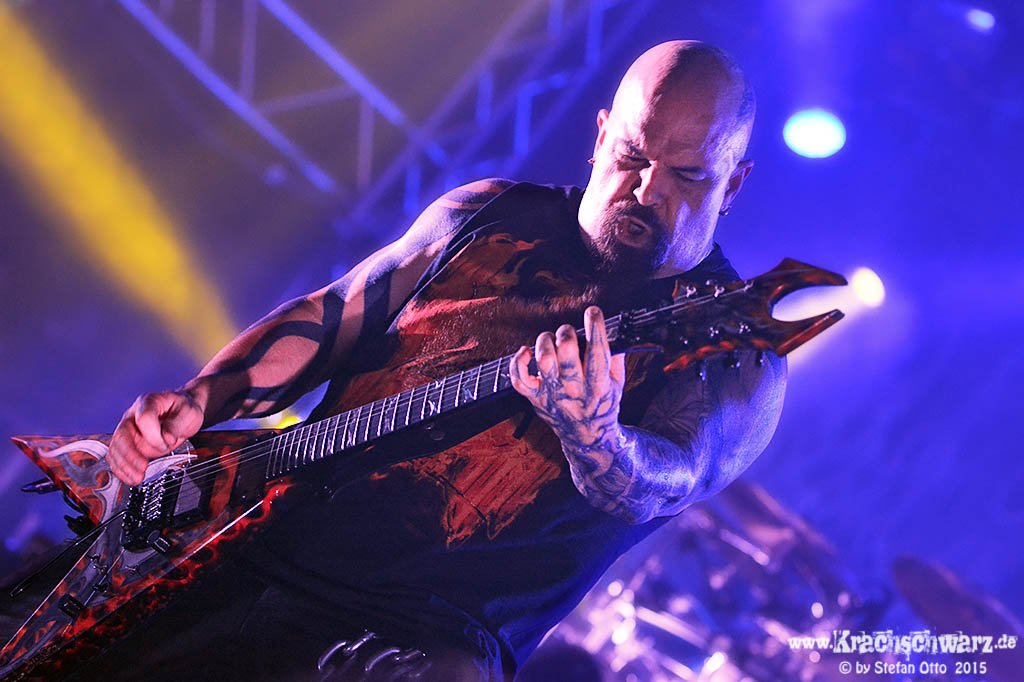 Kerry King (SLAYER) - 08.11.15 Haus Auensee Leipzig